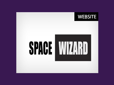 Space Wizard Website Thumbnail